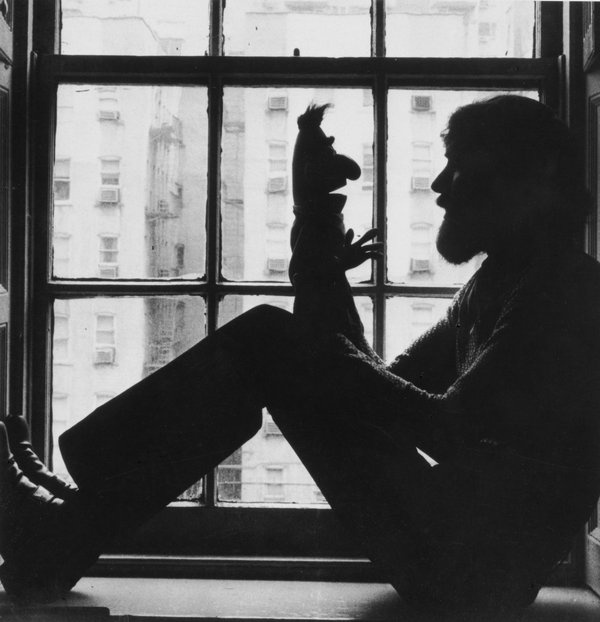 Photo found on Tumblr #photo #beard #doll #puppet #photography #muppet #window #light #shadow