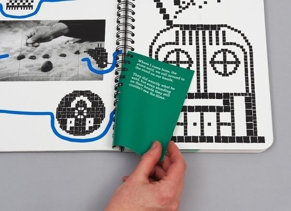 Niessen & de Vries – Work #print #note #book #insert