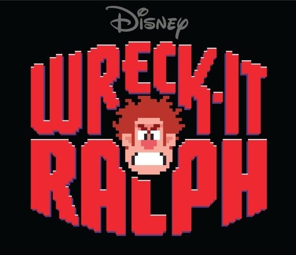 "Title Treatment for Disney's ""Wreck It Ralph"" on Behance #wreck #design #graphic #retro #pixel #video #disney #ralph #pixellate #logo #game #typography"
