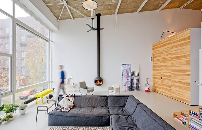 House Like Village – Old Harbor Cantina Transformed into Loft Apartments
