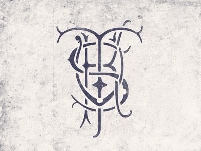Dribbble - Order of the Tusk by Matt Knudsen #mark #design #texture #crest #lockup #identity #sports #logo #typography