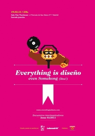 Everything is diseño   Encuentros interinspiradores #donkey #kong #poster