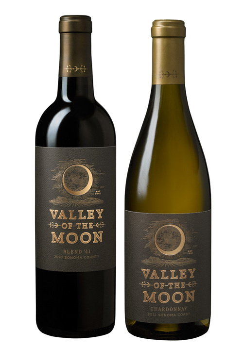 Valley of the Moon ~ Wine Label Design ~ Packaging ~ Auston Design Group