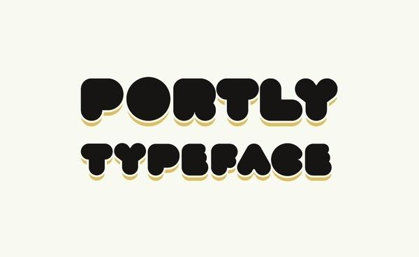 www.joebenghauser.com #design #headline #typeface #portly #type #typography