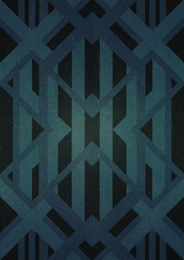 Geometric versions #imek1 #versions #geometry #design #tzaferos #geometric #blaqk #christos #posters #symmetry #greece #patterns #simek #athens