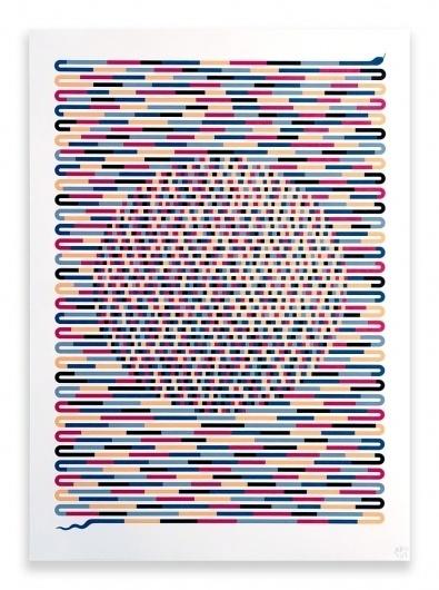 Finding the Pattern - Poster - Hvass&Hannibal #illustration