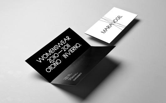 Anagrama | Maria Vogel #card #business #invitation
