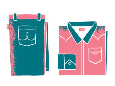Folded_clothing #illustration