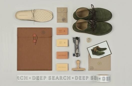 Deep Search Identity - Christian Bielke #business #branding #print #identity #stationery #cards