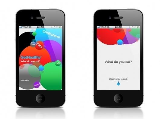 Burøcrata #design #graphic #direction #iphone #burocrata #app #healthy #get