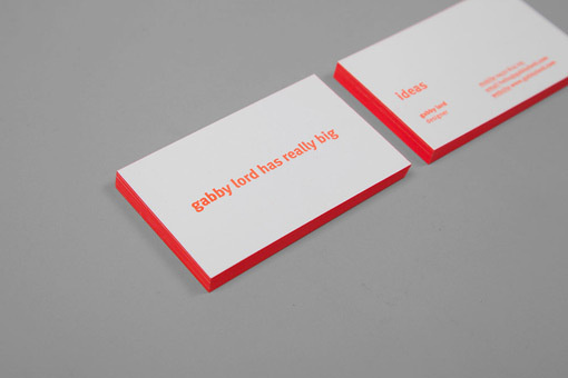 gabbylord_buscards_01 #business #card #branding #stationery