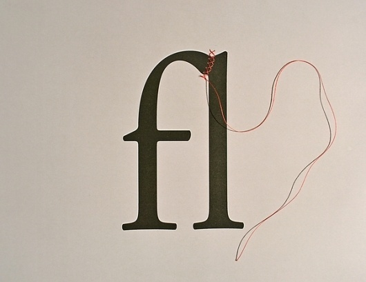 MSCED 2011 on the Behance Network #ligature #typography