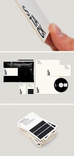 Stack Architects #architectire #idenity #typography