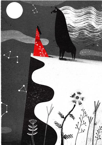 carnetimaginaire:Philip Giordano, Oshirasama (Picture book for Bronze Publishing/Tokyo) #illustration