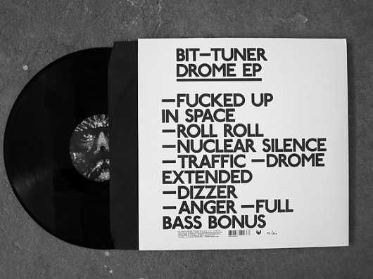 Pascal Alexander #print #design #sleeve #record #typography
