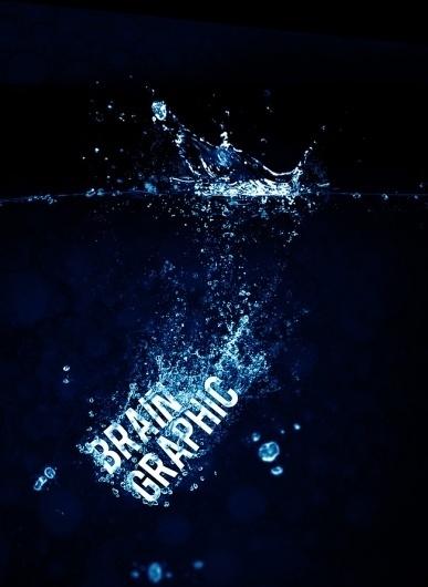 braingraphic_water_splash_artwork.jpg (JPEG-Grafik, 650×889 Pixel) - Skaliert (71%) #water #bubble #illustration #photoshop #splash #braingraphic