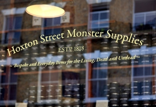 Graphic-ExchanGE - a selection of graphic projects #branding #supplies #hoxton #street #monster