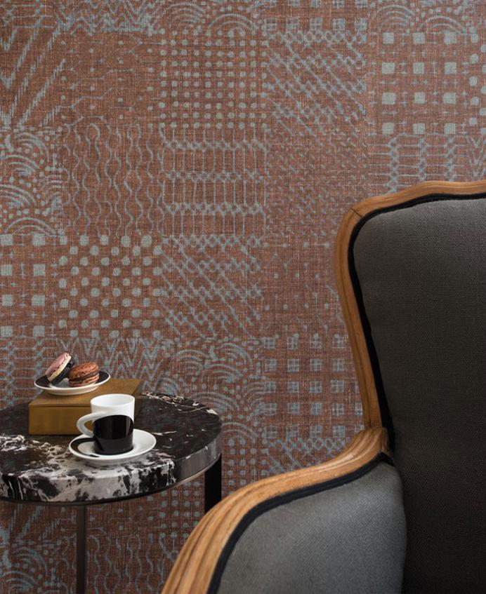 Japanese Style Linen Wallpaper