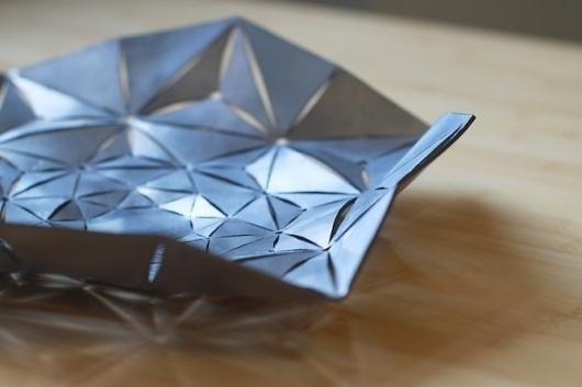 metalworking - Carly Ayres #metal #lasercut #bowl