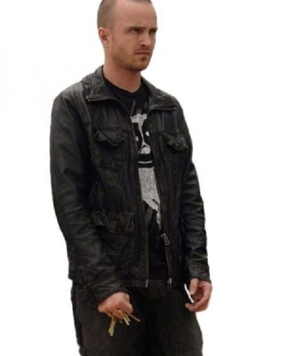 Breaking Bad Aaron Paul Leather Jacket