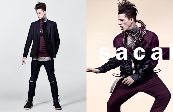 sacai campaign fashion editorial