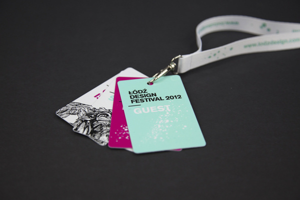 Lodz Design Festival 2012 #visual #identity #ortografika