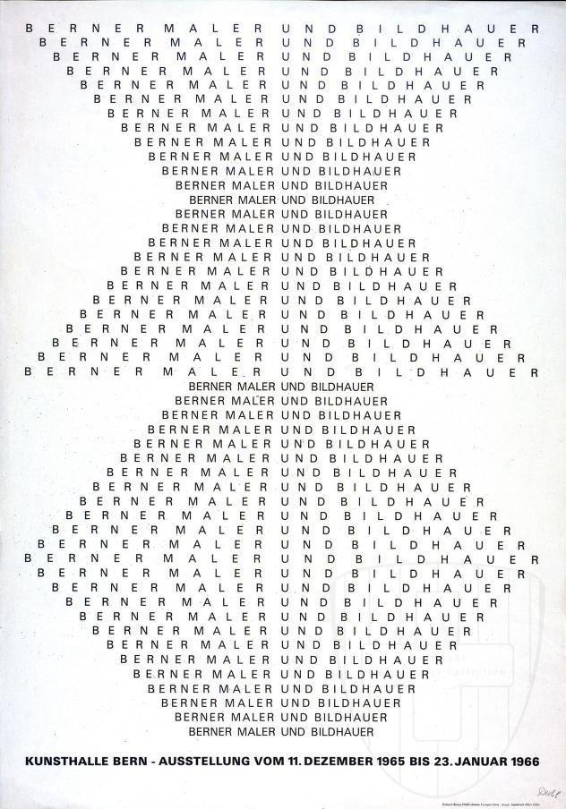 The-book-design : Photo #kunsthalle #swiss #bern #typography
