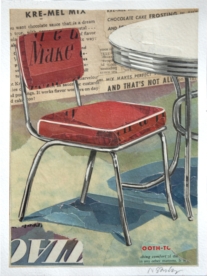 GALLERY   Nathan Stromberg #collage #midcentury