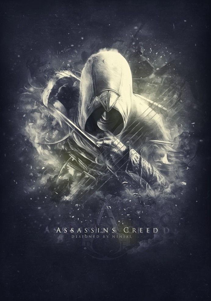 Assassin's Creed Poster by NINJAIWORKS