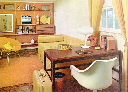 WANKEN - The Blog of Shelby White » The Interiors of Mid-Century Modern #interior #modern #design #vintage #table #midcentury