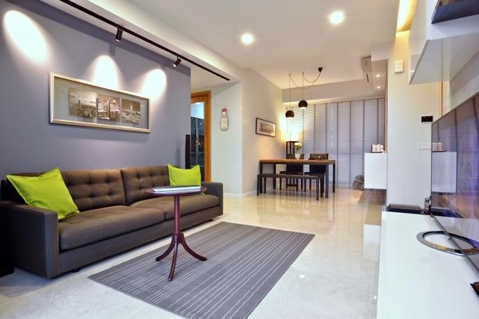 Dakota Crescent apartment #interiordesign