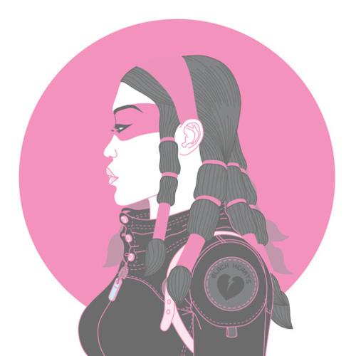 supersonic electronic / art #asian #girl
