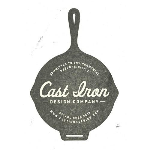 Chocolates / Designspiration — logo_stamp-twitter.jpg (JPEG Image, 500x500 pixels) #agency #design #iron #logo #cast #typography