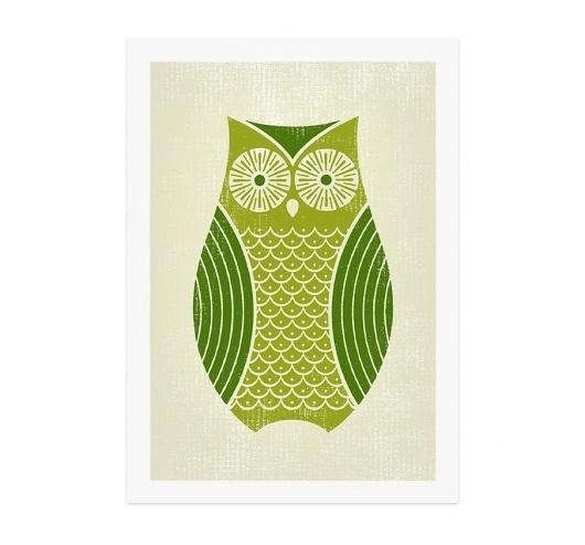 The Design Repository of Brad Surcey #screen #illustration #print #owl
