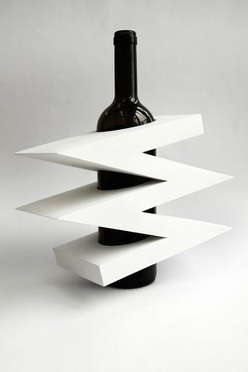 packaging   UQAM   Sylvain Allard #packaging #uqam #wine #origami #papercraft