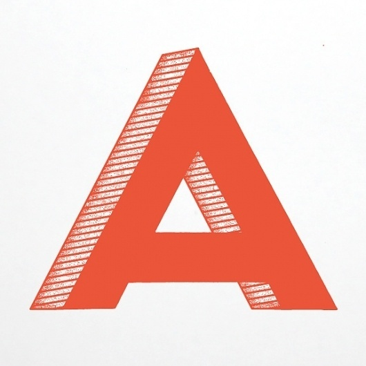 Favorite / Found Letter Project #type