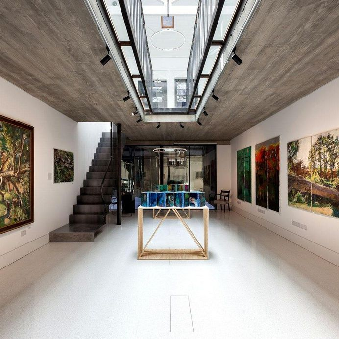 Eleven Spitalfields Gallery Re-Opened, Chris Dyson Architects