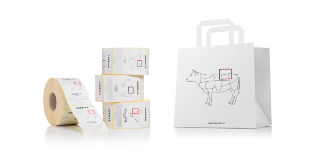 Fauna meat packaging designs for Corella #packaging #meat