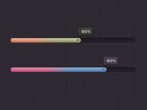 Colorful progress bars psd material Free Psd. See more inspiration related to Colorful, Bar, Psd, Dark, Progress bar, Material, Progress, Horizontal and Bars on Freepik.