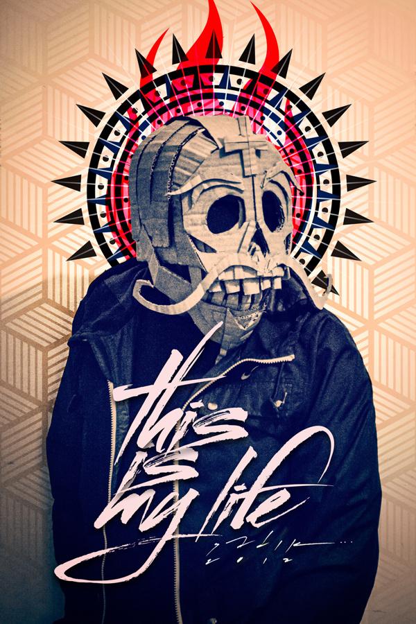 Tradiciones Muertas on Behance... https://www.behance.net/gallery/11883037/Tradiciones-Muertas #mascara #vector #pattern #cardboard #diseã±o #sadik #mexico #photo #leon #fotografia #guanajuato #diseã±ador #tradiciones #mexican #tradition #mask #retoque #skull