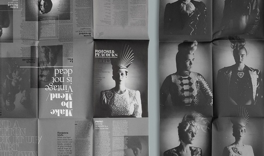 THEARTISTANDHISMODEL » Blog Archive » London College of Fashion Quarterly Fanzine #fanzine #london #of #design #college #fashion