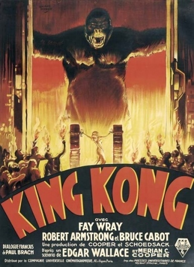 100 Illustrated Horror Film Posters: Part 2 // WellMedicated #movie #kong #classic #poster #king