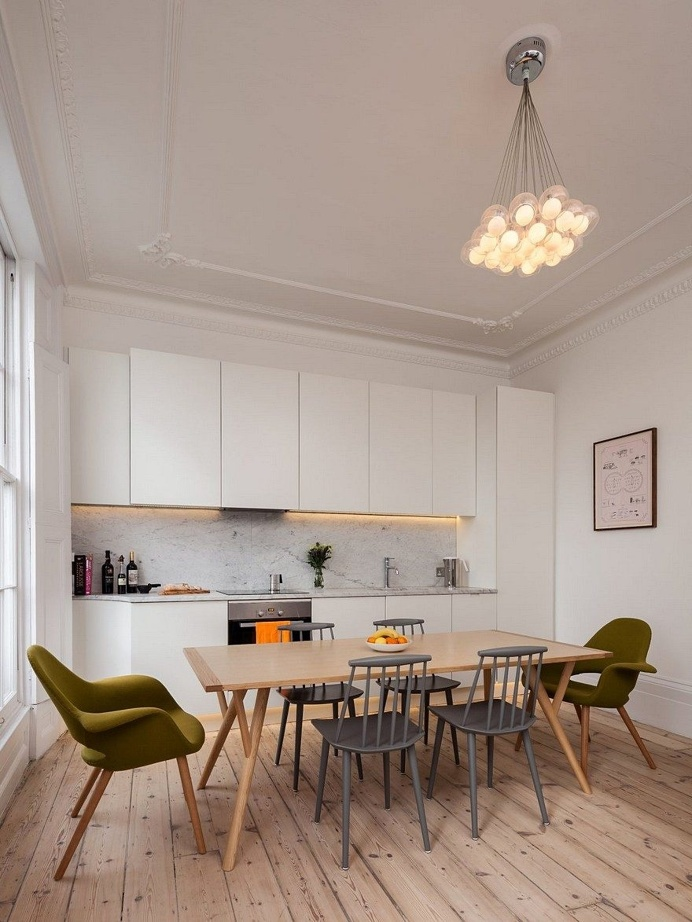 London Flat Refurbished to Provide an Open Plan Kitchen and an Additional Bedroom 2
