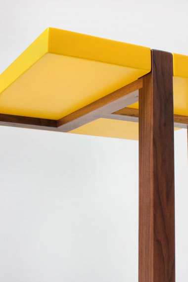 PIET side table Yellow #yellow