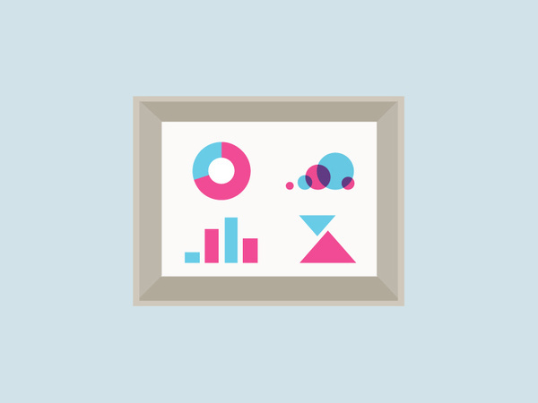 Infographics frame illustration #pie #frame #vector #graphics #pink #infographics #graphic #on #illustration #info #concept #stats #blue #light #chart #shadow