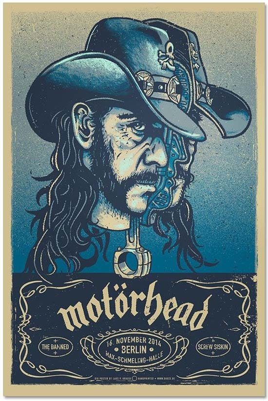 Cool Gig Posters by Lars P. Krause