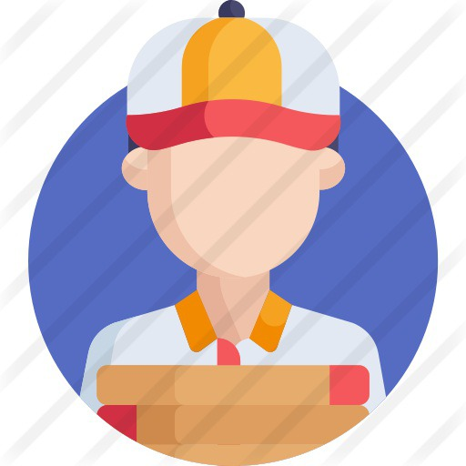See more icon inspiration related to shipping and delivery, professions and jobs, courier, delivery man, package, delivery, user, box, shop, shopping and person on Flaticon.