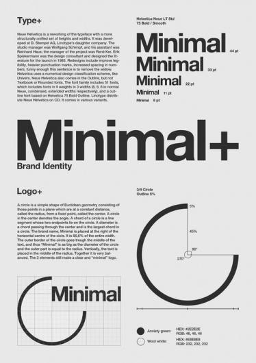 Typographie #identity #grid #graphic