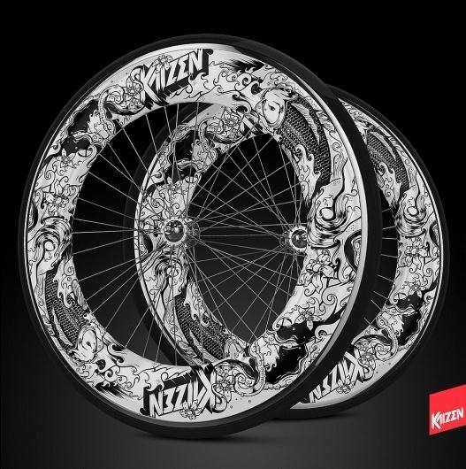 Más tamaños | Kaizen | Flickr: ¡Intercambio de fotos! #wheels #illustration #bike