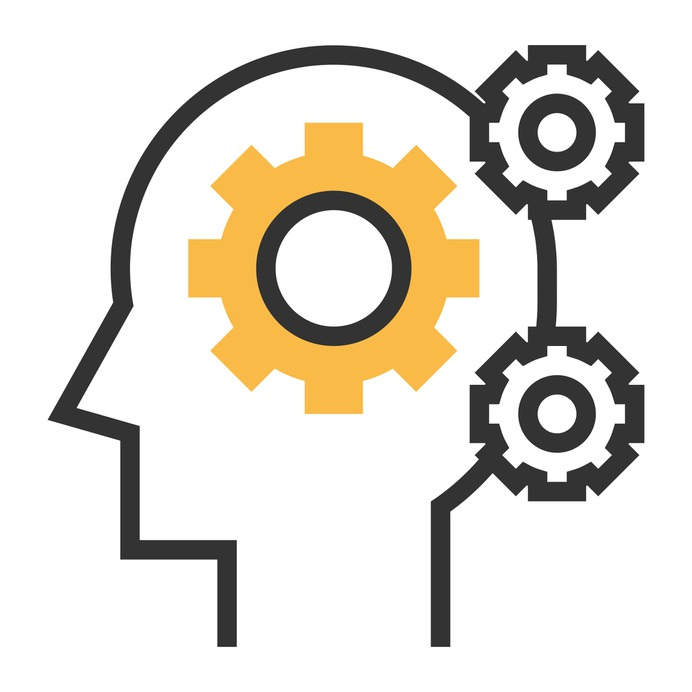 See more icon inspiration related to think, mind, thought, gear, knowledge, intelligence, education and gears on Flaticon.